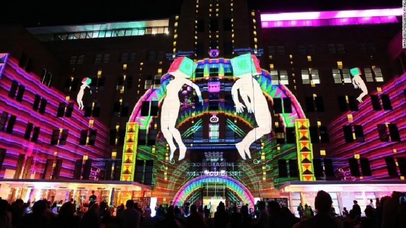 Tác phẩm nghệ thuật ấn tượng trong lễ hội