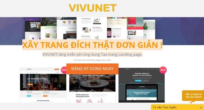Vivunet cung cấp nhiều ưu điểm vượt trội cho khách hàng sử dụng dịch vụ.