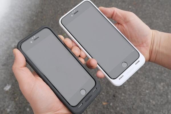 Ốp lưng kiêm sạc dự phòng mophie juice pack air cho iPhone 6s/7/8 Plus