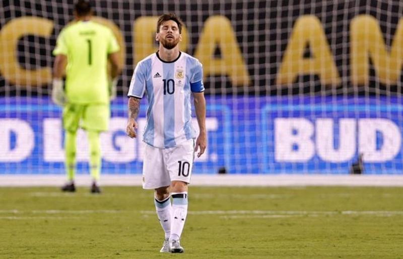 Messi vẫn đang đi tìm kiếm danh hiệu đầu tiên cùng Argentina