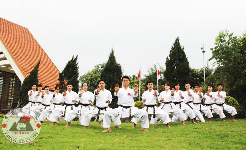 Top 6 trung tâm dạy võ karate tại Hà Nội