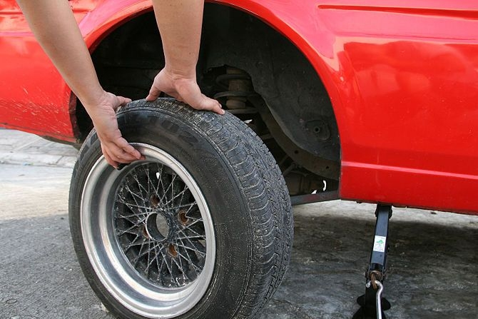 Vỡ hoa lốp