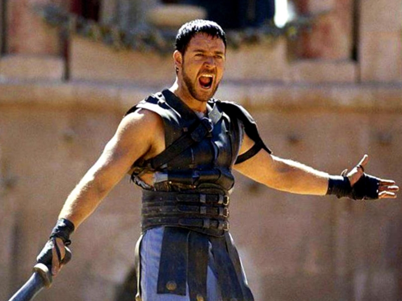 Những võ sĩ giác đấu thường được miêu tả là phải chiến đấu đến chết trên phim ảnh