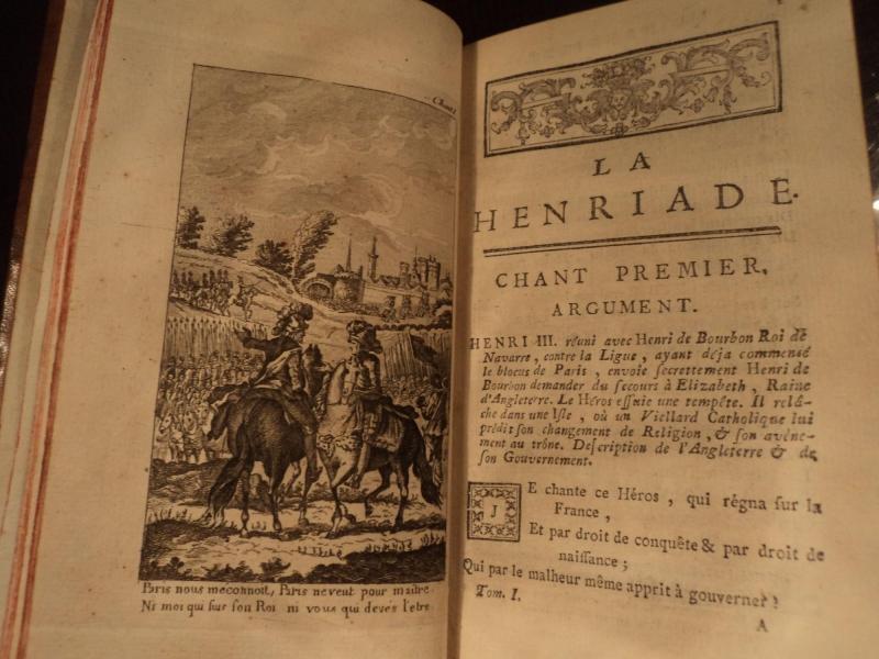 Tác phẩm La Henriade của Voltaire