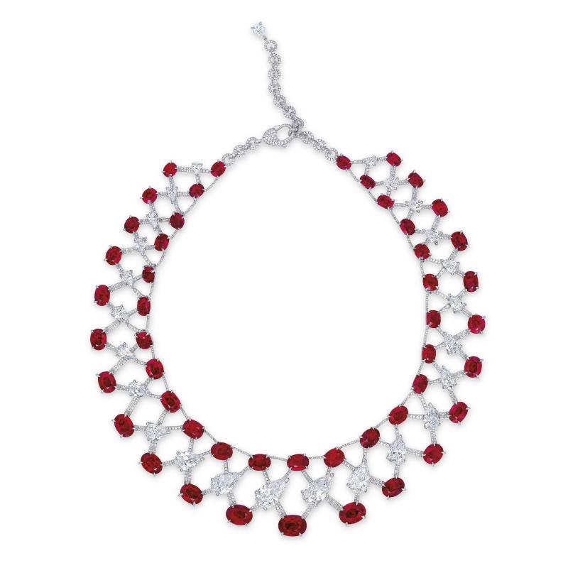 Vồng cổ kim cương Magnificent Ruby