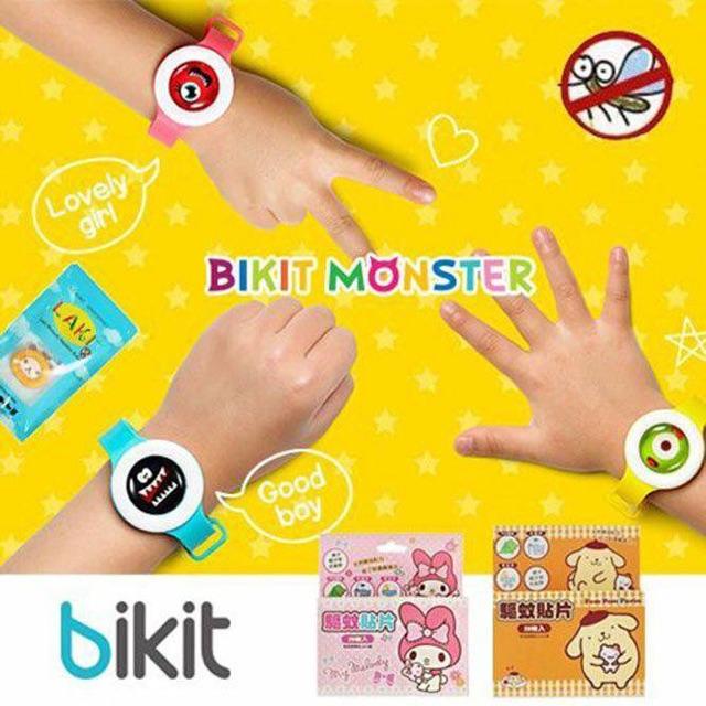 Vòng đeo tay chống muỗi Hàn Quốc Bikit Monster