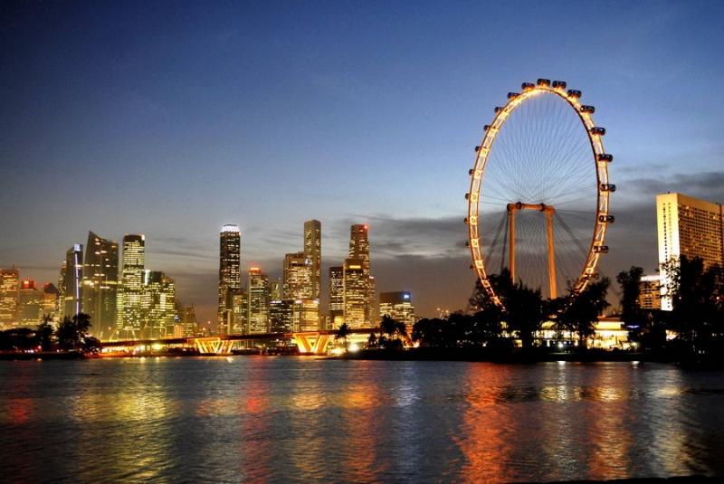 Vòng quay khổng lồ Singapore Flyer