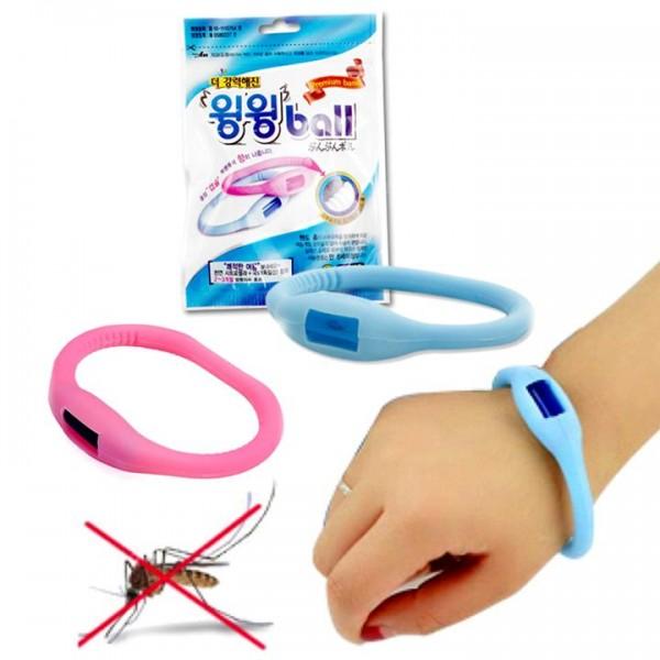Vòng tay chống muỗi Hàn Quốc nhãn hiệu Mosball
