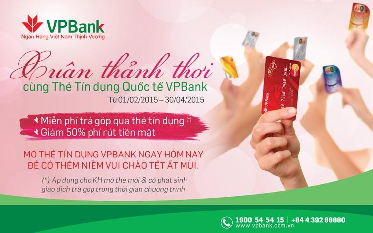 Thẻ tín dụng VPBank có rất nhiều ưu đãi dành cho khách hàng