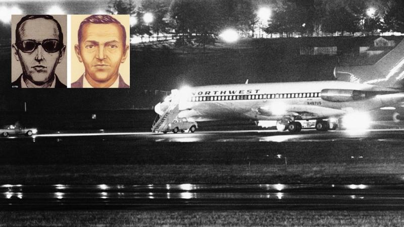 Chiếc Boeing 737 chờ tiếp liệu tại sân bay Seattle - hiện trường vụ cướp của DB Cooper