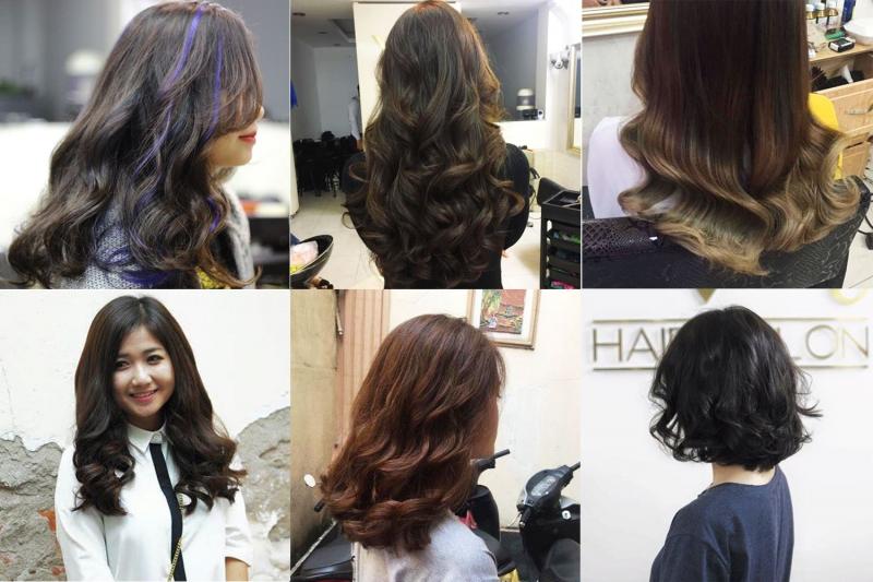 Tiệm thiên về những dáng tóc xoăn hợp trend