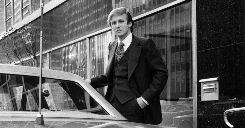 Donald Trump khi còn trẻ (1970)