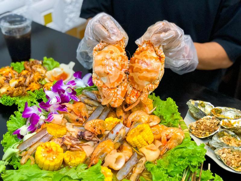 Top 6 nhà hàng hải sản ngon nổi tiếng quận Ba Đình, Hà Nội