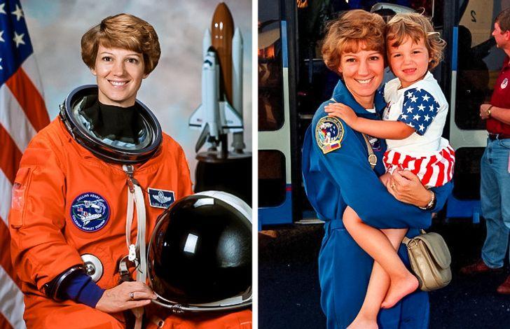 Eileen Collins vừa là nữ chỉ huy mạnh mẽ vừa là người mẹ dịu hiền
