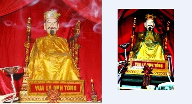 Vua Lý Anh Tông (3 tuổi)