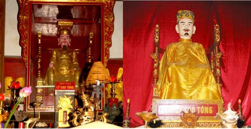 Vua Lý Cao Tông (3 tuổi)