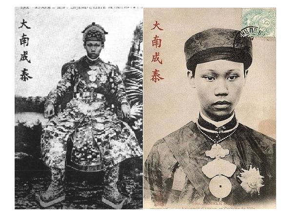 Vua Thành Thái (1879 - 1954): 75 tuổi