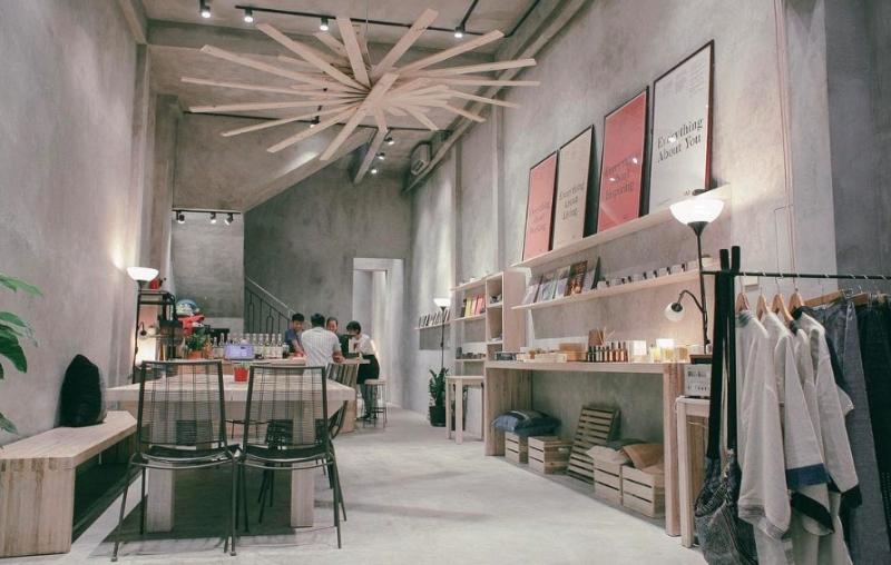 Không gian tầng 1 của Vui Studio