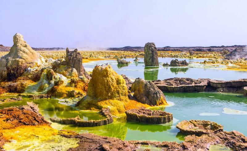 Vùng chảo Danakil, Ethiopia