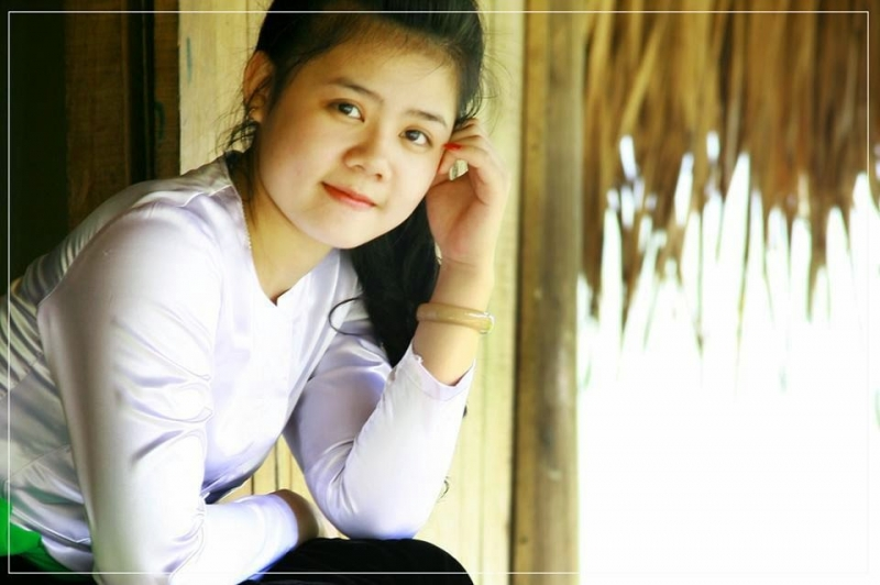 Muong So's daughter with a pretty face