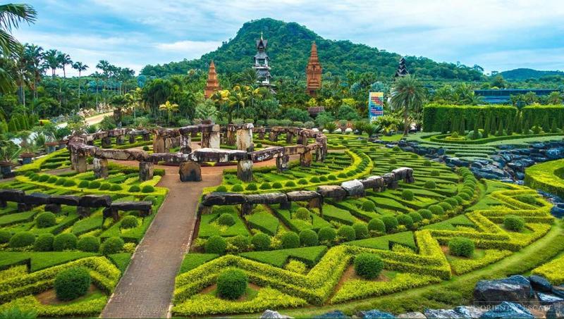 Vườn bách thảo nhiệt đới Nongnooch, Thái Lan