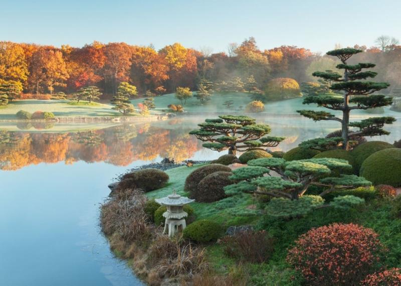 Vườn bách thảo Chicago: Japan Elizabeth Hubert Malott