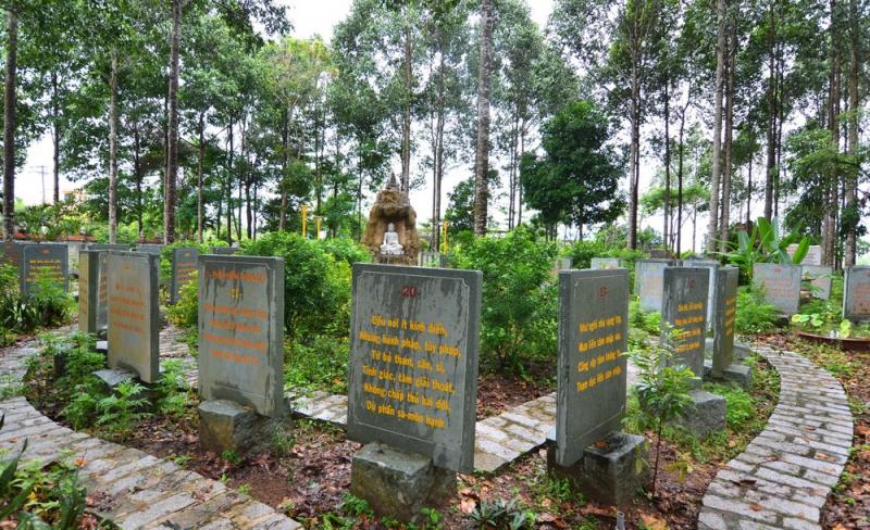 Vườn bằng kinh đá độc nhất Việt Nam