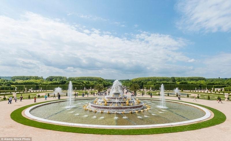 Vườn điện Versailles