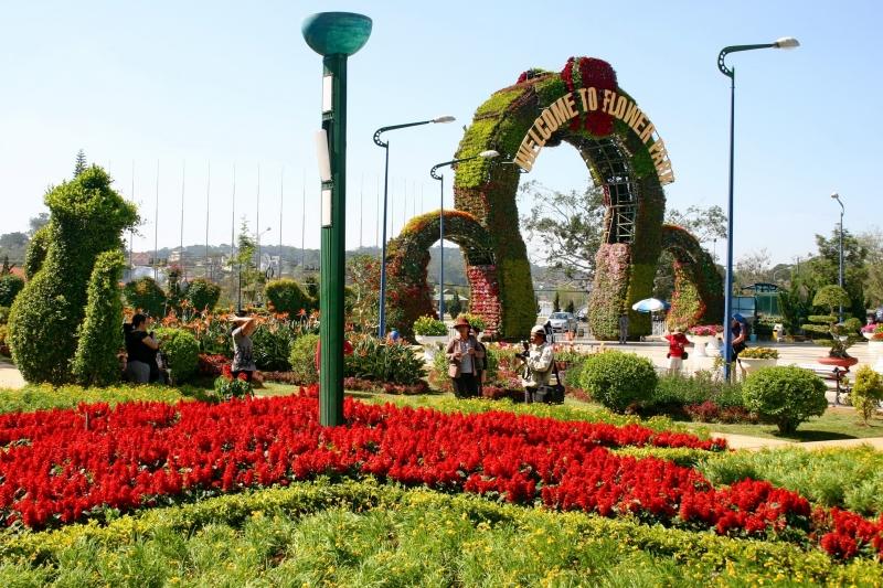 Vườn Hoa Đà Lạt - tỉnh Lâm Đồng