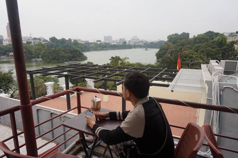 View đắt giá tại Vườn Phố Cổ Cafe