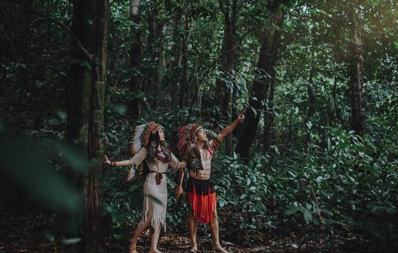 Nét độc đáo trong mỗi bức hình khi chụp tại vườn quốc gia Cúc Phương