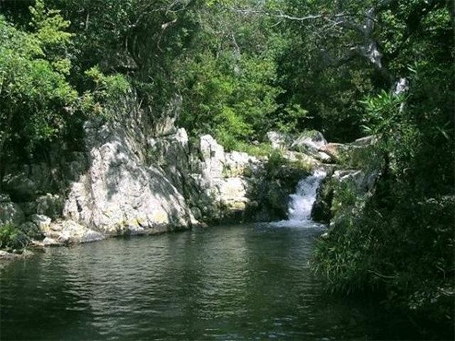 Ngoài ra còn có nhiều thác nước hùng vỹ ngày đêm tuôn đổ, tạo cho vườn quốc gia Núi Chúa thêm nét thơ rất tuyệt vời.