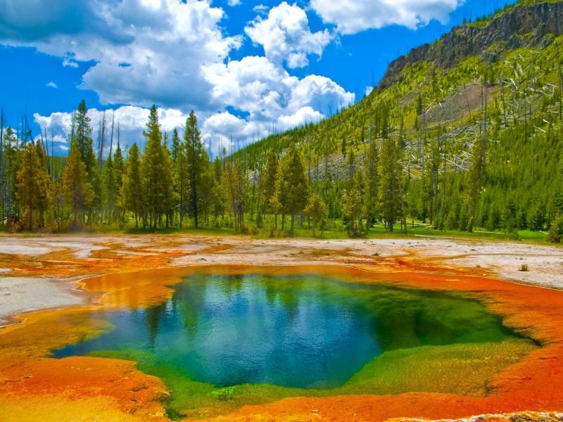 Vườn quốc gia Yellowstones (Mỹ)