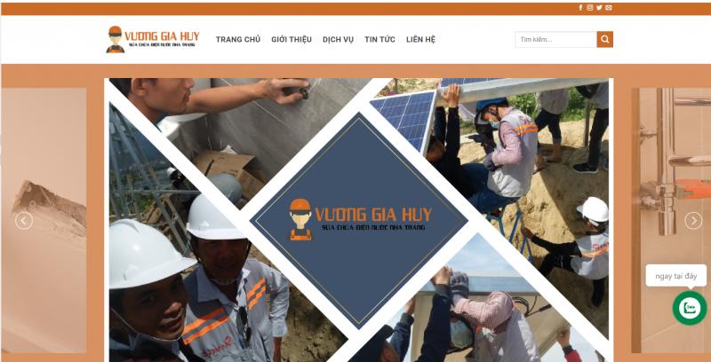 Trung tâm sửa chữa điện nước Nha Trang – Vương Gia Huy