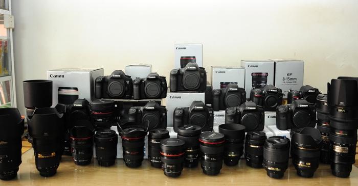 Tuy chưa nhiều năm trong nghề nhưng Vương Giang Camera cũng đã tạo dựng được thương hiệu uy tín về sửa chữa máy ảnh.