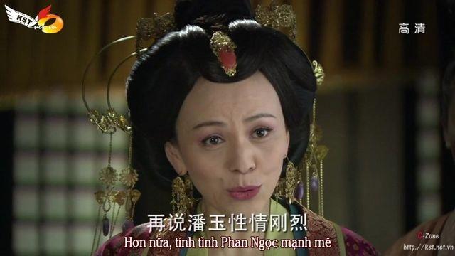 Vương Lâm vai Hàn Chiêu Nghi trong bộ phim Khuynh thế hoàng phi