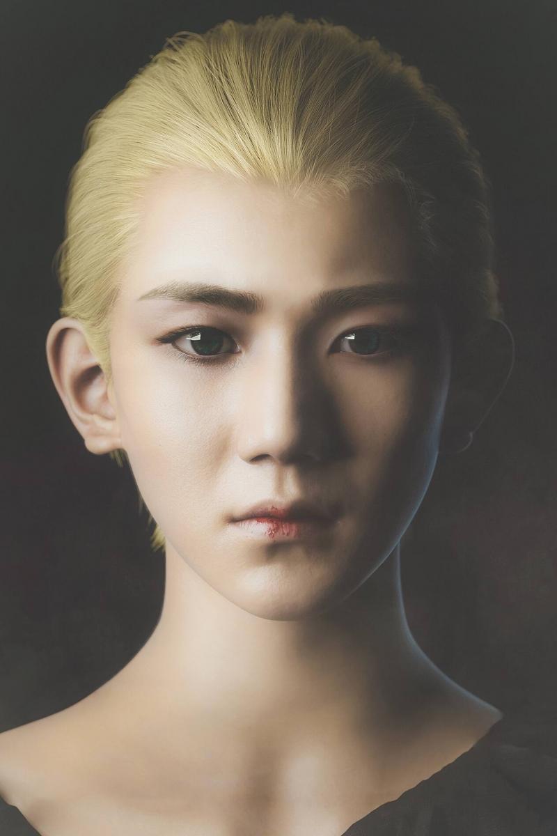 Và đây chính là tạo hình mà Vương Nguyên đảm nhận trong bộ phim Tước Tích, khác với vẻ dễ thương như thiên sứ, trong phim cậu là một vị thần vô cùng lợi hại nha.
