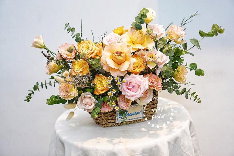 Mẫu hoa được yêu thích tại Vyvy florist