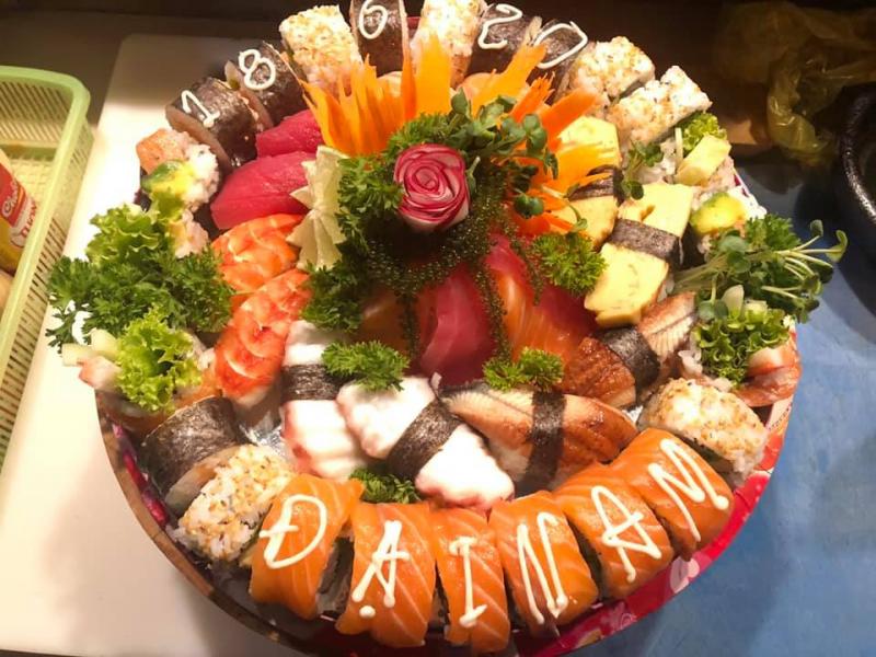 Top 5 nhà hàng sushi ngon nhất tại Nha Trang
