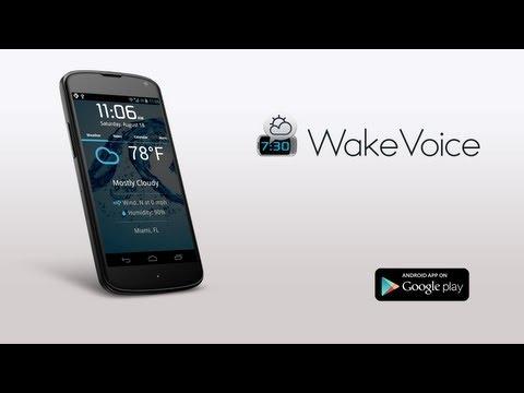 WakeVoice Alarm - tắt chuông bằng giọng nói