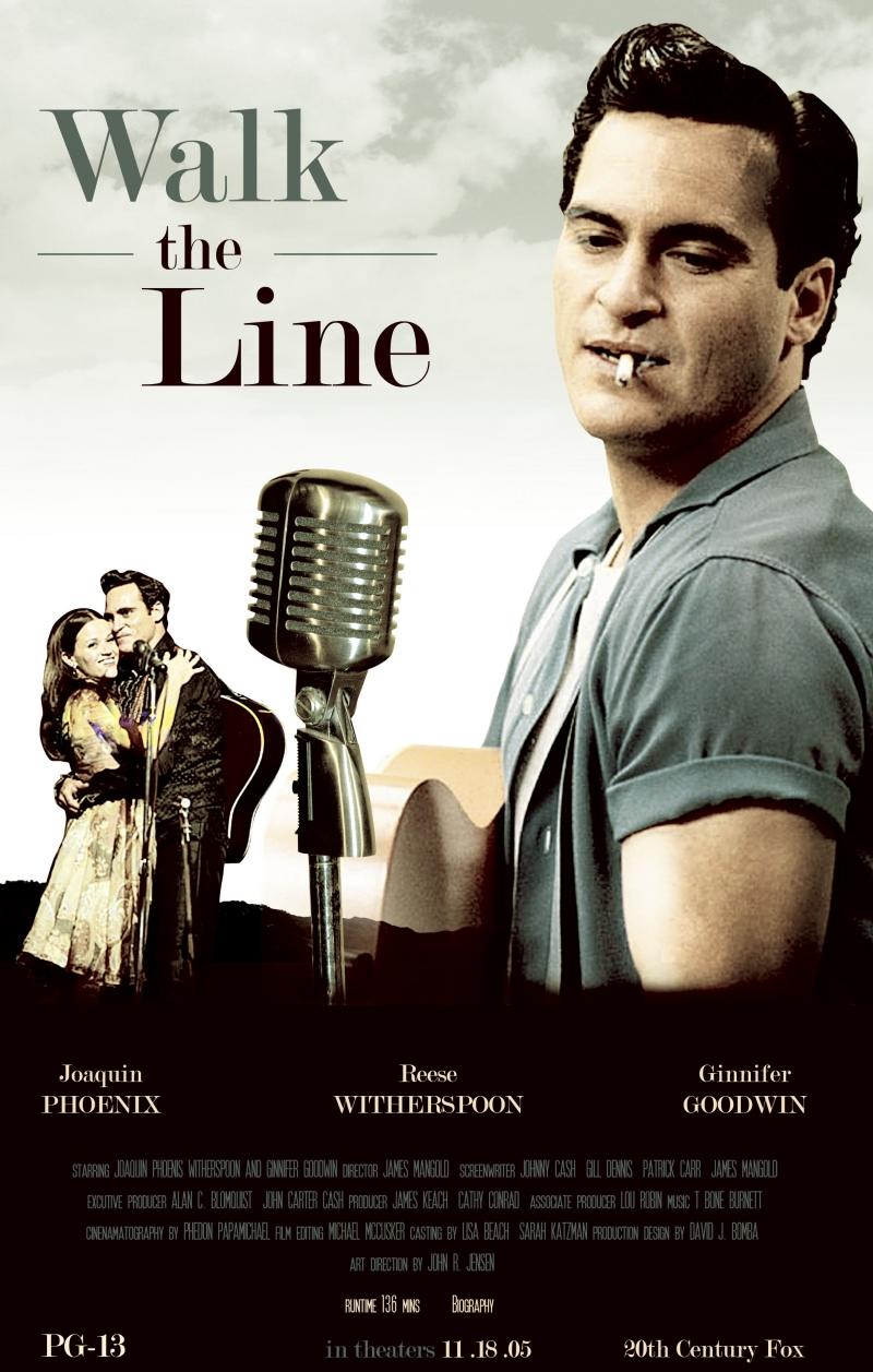 Walk the line - Về cuộc đời của ca sĩ country-rock Johnny Cash