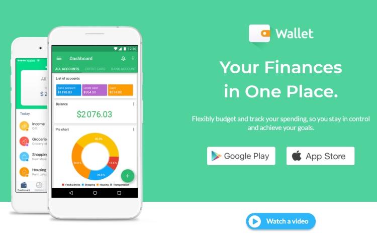 Ứng dụng quản lý tài chính Wallet