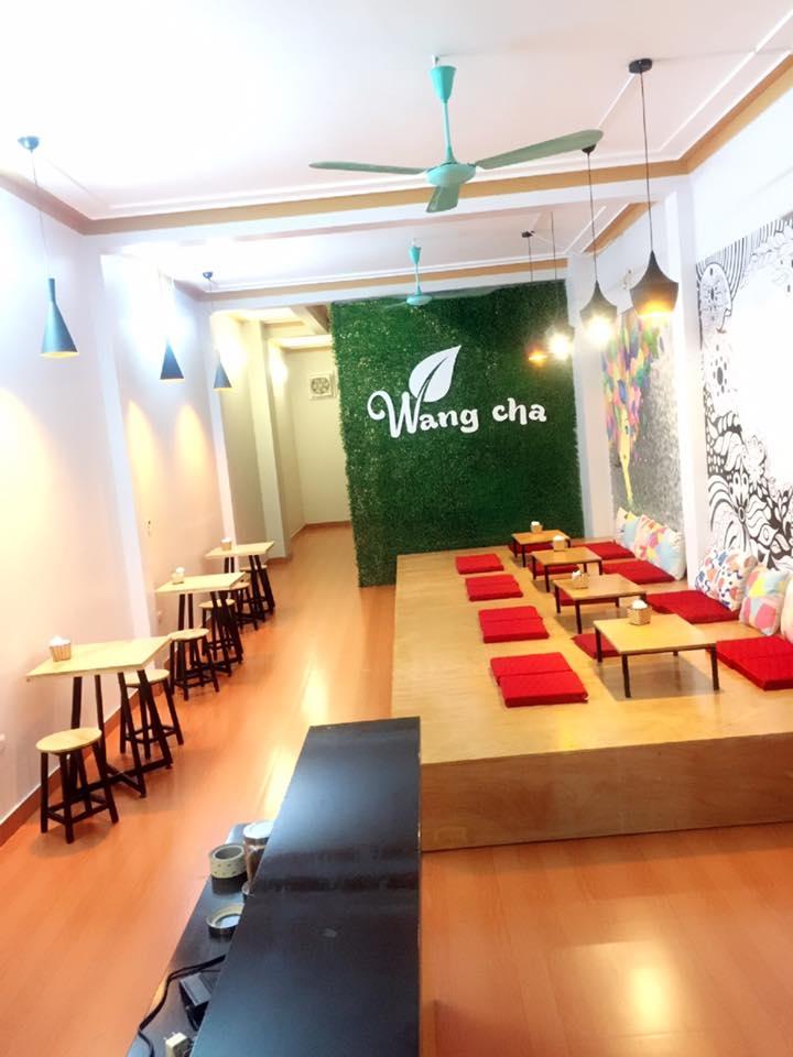 Không gian quán Wangcha