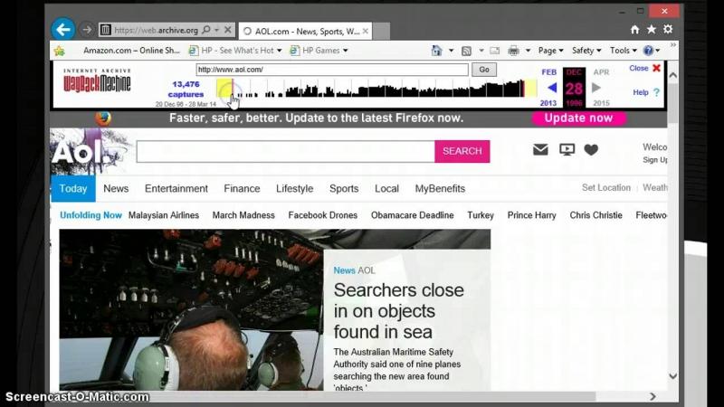 Wayback Machine là một website cung cấp công cụ tìm kiếm lý tưởng dành cho những ai đam mê nghiên cứu lịch sử