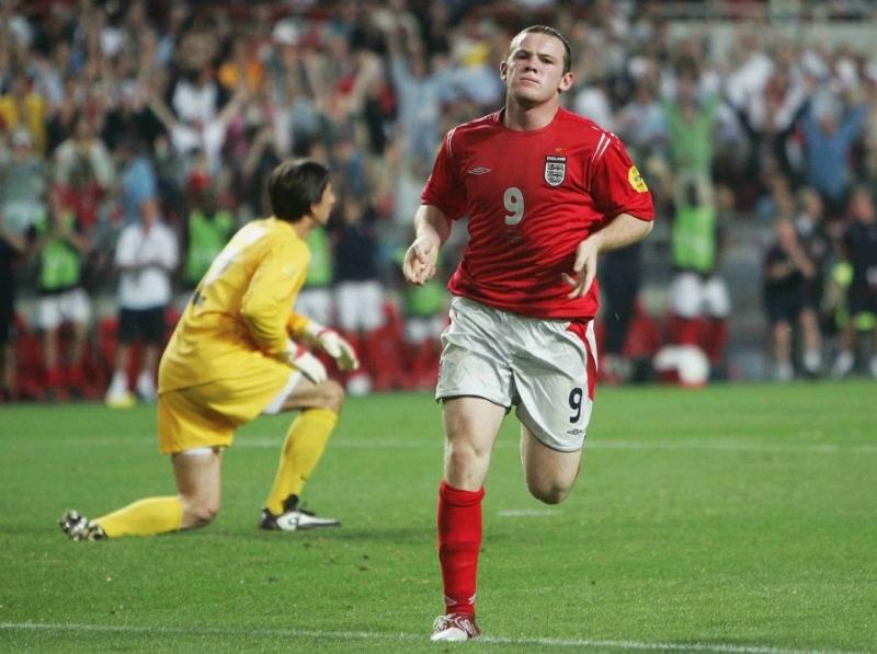 Kỳ Euro 2004 là kỳ Euro mà Rooney thi đấu tốt nhất