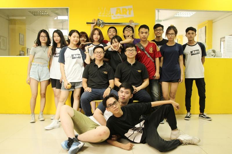 Đội ngũ giáo viên trẻ, tận tình hướng dẫn học viên