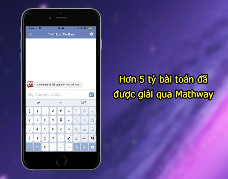 Website về toán học - Mathway