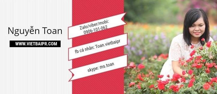 Vietbaipr.com cung cấp cho khách hàng đa dạng rất nhiều dịch vụ viết bài