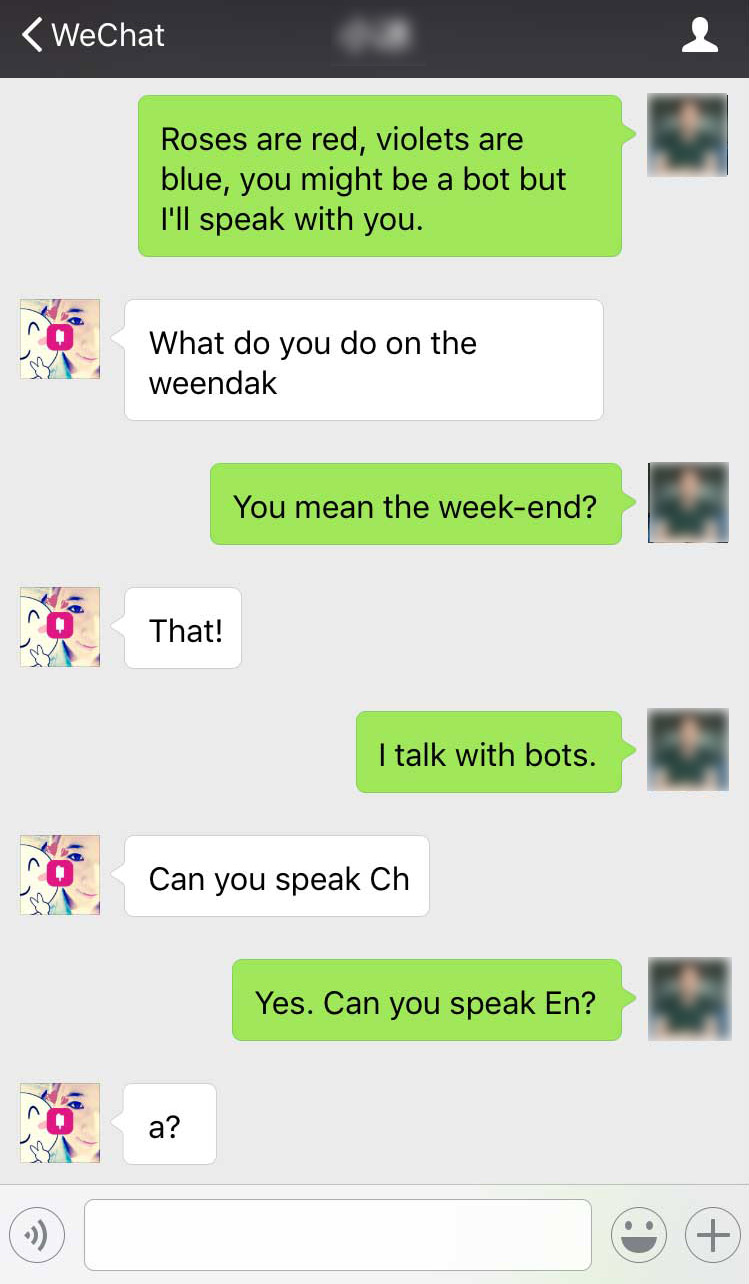 Ứng dụng chat Wechat