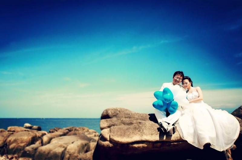 Những bức ảnh cưới lạ mắt sẽ gây ấn tượng hơn với mọi người